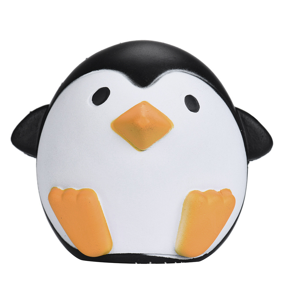 SquishMeez High Quality Soft Slow Rising Cute Lovely Animal Penguin Stress Fidget Jumbo Squishy Toys With Good Smell Scented