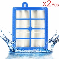 2PCS Lot H12 H13 Washable And Reusable Hepa Filter Fits Philips Electrolux EFH12W AEF12W FC8031 EL012W