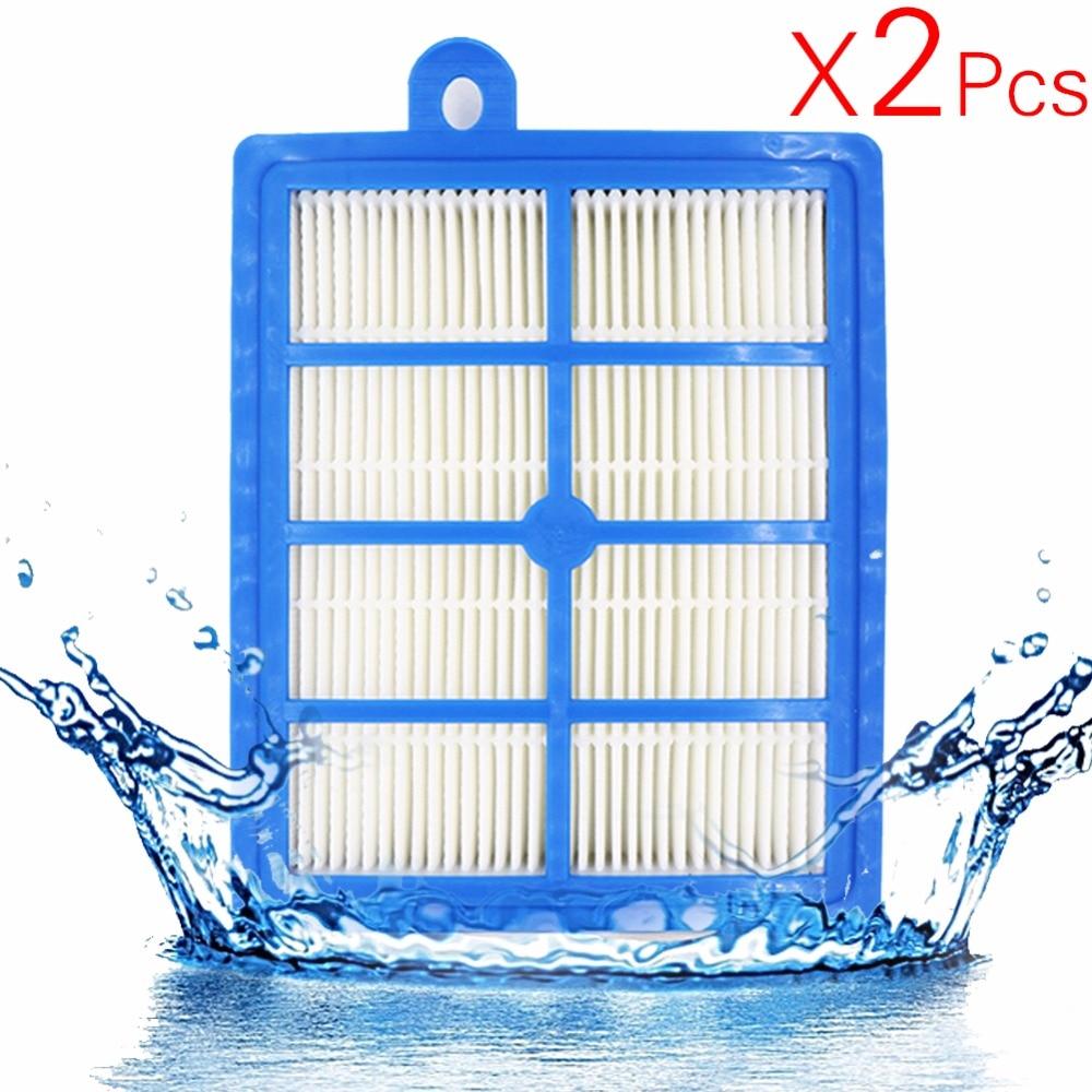 2 Teile/los H12 H13 Waschbar und Wiederverwendbar Hepa-Filter, passt Philips Electrolux EFH12W AEF12W FC8031 EL012W vakuum clener teile