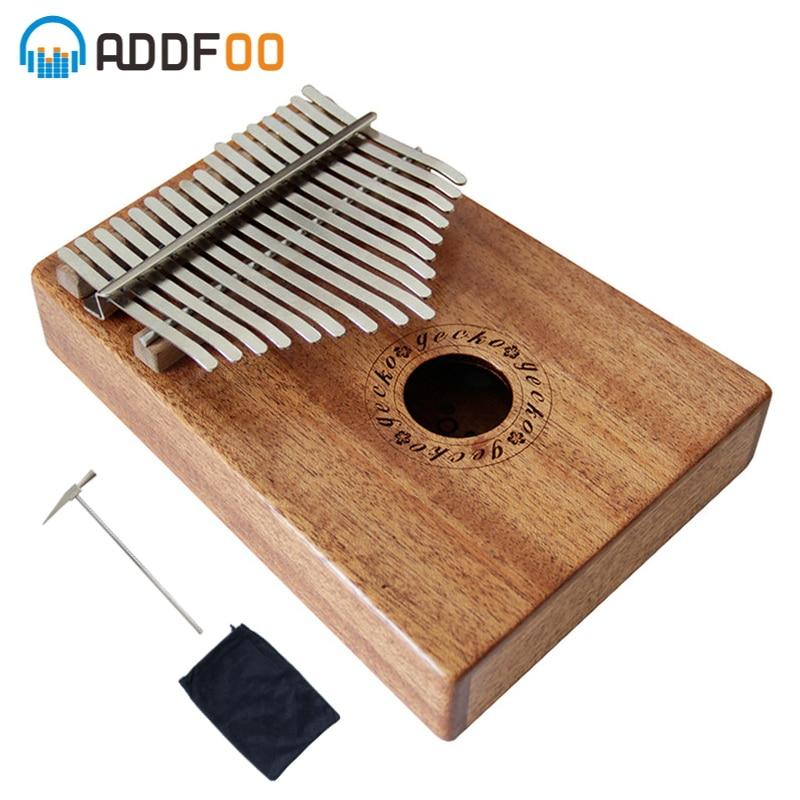 17 clés K17M Kalimba africain pouce Piano doigt Percussion clavier Instruments de musique pouce acajou livraison gratuite Kalimba