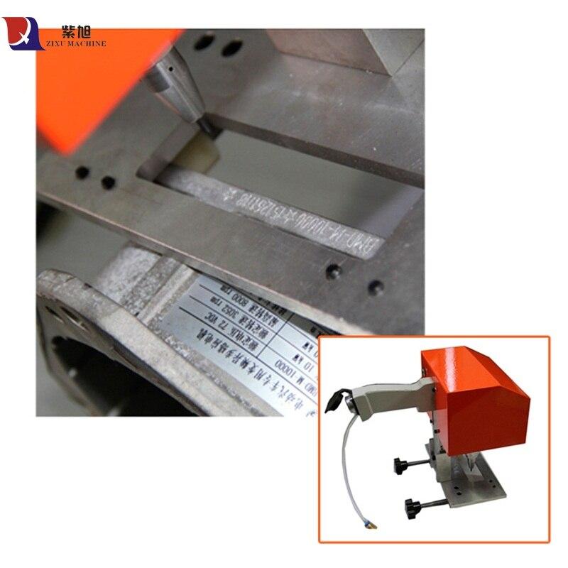 Máquina de marcado de matriz de datos de grabador Cnc de mano Mini portátil máquina de marcado de brida neumática
