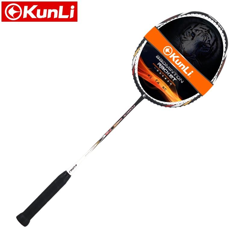 original KUNLI official badminton racket 5U 79g FORCE SNIPE 79 full carbon Ultra light attack racket professional feather racket