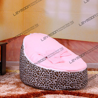 FREE SHIPPING Baby Bean Bag With 2pcs Pink Up Covers Baby Bean Bag Chair Children Bean