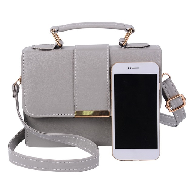PU Leather Shoulder Small Flap Ladies Hand Bag