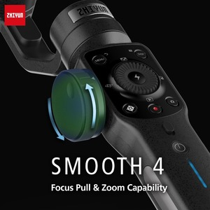 Image 4 - Zhiyun Smooth 4 Vlog Live 3 Axis Handheld Smartphone Gimbal Stabilizer for iPhone Xs Max X 8 7& Samsung S9,S8 7 Action Camera