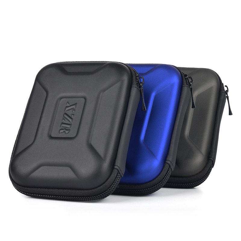 Portable EVA Storage Bag HDD Carry Case Digital Accessories Protect Bags For Earphone U Disk , Data Cable , Power Bank Organizer