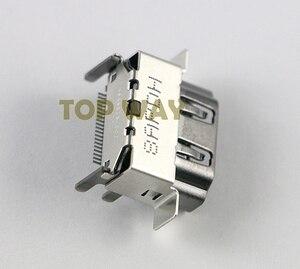 Image 2 - Piezas de repuesto para Puerto de HDMI 2,1 1080P, 10 unids/lote, Original, nuevo, para XBOX ONE X, reparación de la placa base