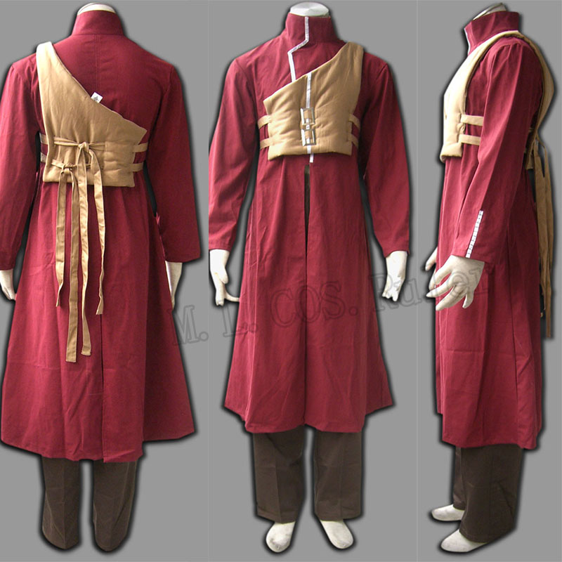Naruto Gaara Fourth Generation Cosplay Clothes Costume Anime Disfraces Full Set