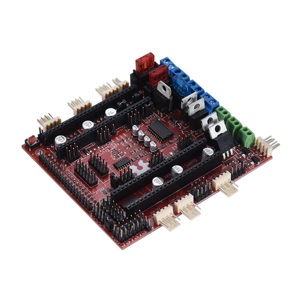 3d Printer Part Mks Sbase V13 Controller Board Opensource 32bit Ramps 14 Mega2560 R3 A4988 Optical Endstop Kit Alex New Motherboard Fd Shield Control Compatible For Arduino Due