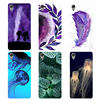 """For Coque Sony C6 Case Cover Flower Leaves Phone Cases For SONY Xperia XA Ultra 6"""" Fundas For SONY Xperia XA Ultra F3212 F3211"""