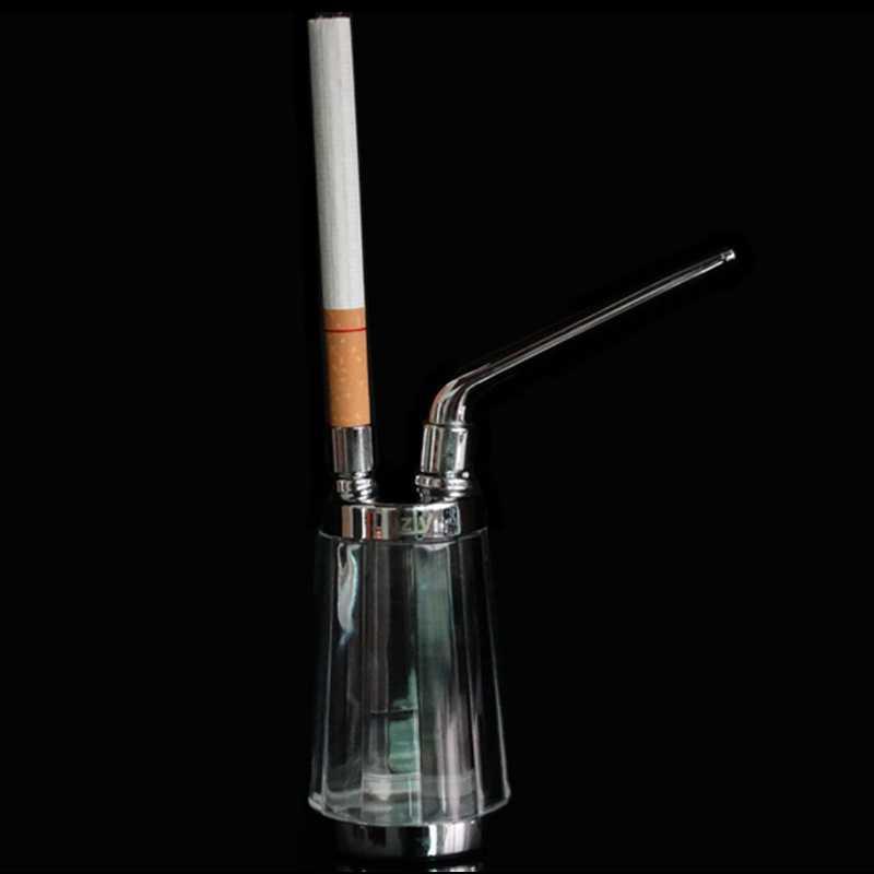 SWSMOK nouveau populaire bouteille d'eau tuyau Portable Mini narguilé Shisha tabac fumer tuyaux cadeau de santé métal Tube filtre