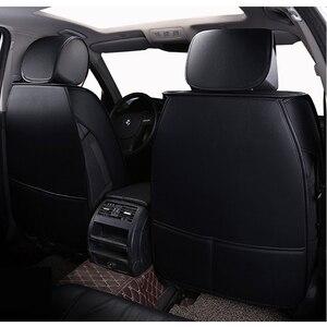 Image 3 - Nuevas fundas de cuero universales para asiento de coche, para Honda accord 7 8 9 civic CRV CR V 2017 2016 2015 2014 2013 2012 2011 2010 2009 2008