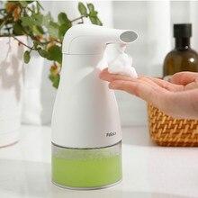 x-5526 Automatic foam soap dispenser free-touch ABS Children's hand sanitizer kitchen kindergarten bathroom accessories gojo 962112 bag in box hand sanitizer dispenser 800ml 5 5 8w x 5 1 8d x 11h we