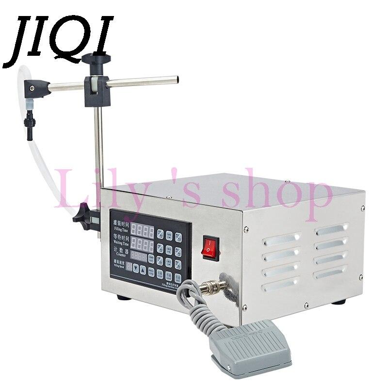 Digital Control Pump Liquid Filling Machine Electric Drink Water Wine Small Beverage Bottling Tools Filler 5