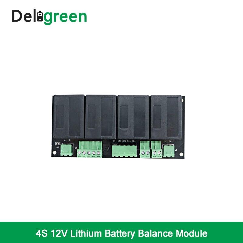 QNBBM 4S 12 v Batterie Active Equalizer Balancer BMS pour LiFePO4, LiPO, LTO, SUP, liMN 18650 DIY Batterie Pack