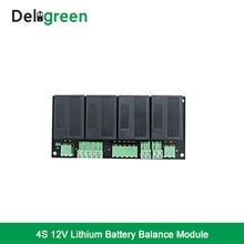 QNBBM 4S 12 V активный эквалайзер батареи балансировки BMS для LiFePO4, LiPO, LTO NCM, LiMN 18650 поделки коробка для батареек