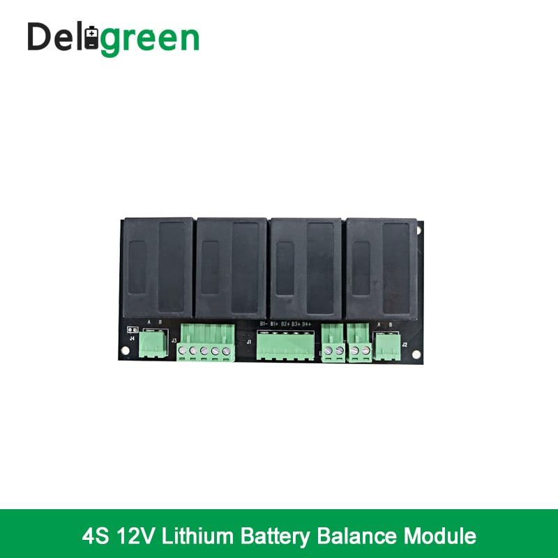 QNBBM 4S 12 В Active эквалайзер батареи балансировки BMS для LiFePO4, LiPO, LTO, NCM, LiMN 18650 DIY Батарея Pack