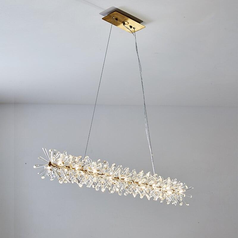 New design modern crystal lamp pendang light AC110V 220V lustre LED dinning room living room hanglampen