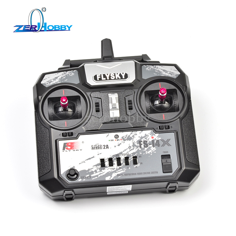 Flysky FS i4x AFHDS 2.4GHz 4CH Radio 4 Channel Transmitter + FS A6 Receiver for RC Airplane/Boat