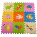 Mat/tapete/tapete tipo de animal Do Bebê proteção ambiental insípido EVA caricatura esteira Esteira do Enigma/30*30 cm, frete grátis