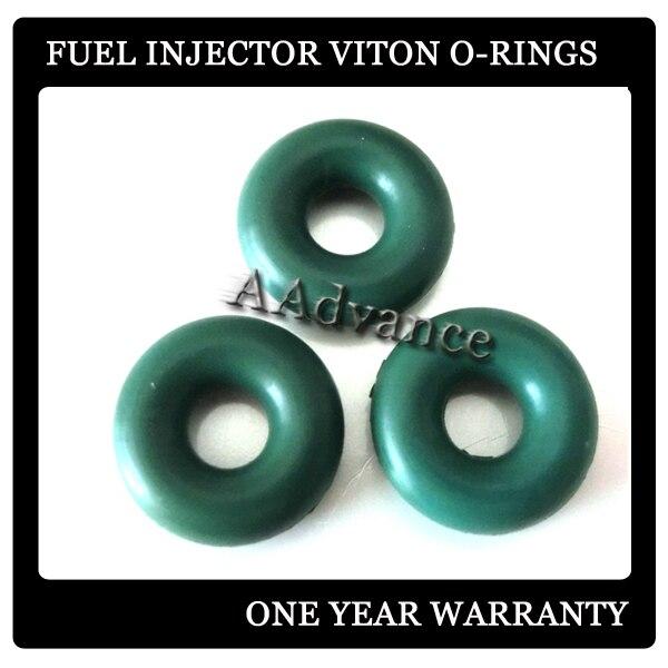 Gb3-146. 235id*. 205 толстые Инжектор топлива уплотнительное кольцо orings Размеры 5.96*5.2 мм, Инжектор топлива Оринг Наборы зеленый/черный