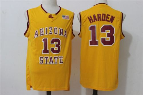 Detail Feedback Questions about 13 James Harden Arizona State Throwback Retro  College basketball JERSEY Embroidery Stitched Top Quality on Aliexpress.com  ... 1bfe16568