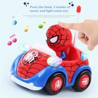 Disney 1 26 Spiderman Fighter Marvel Action Figure Super Hero Collectible Model RC Car Juguetes Xmas