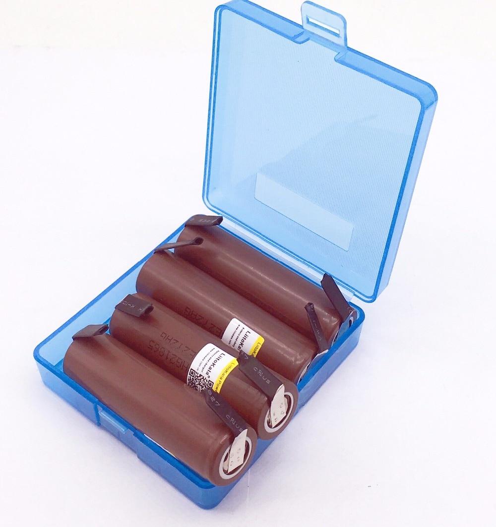 Image 3 - 4PCS/lot Liitokala new HG2 18650 3000 mAh battery 18650HG2 3.6V discharge 30A, dedicated  batteries + DIY NickelRechargeable Batteries   - AliExpress