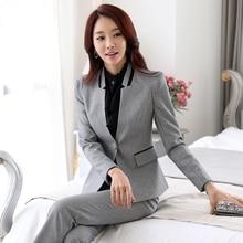 blazer women 2016 spring autumn and winter work wear blazers set long-sleeve formal suit work wear blaser LX8363 plus size s-5xl