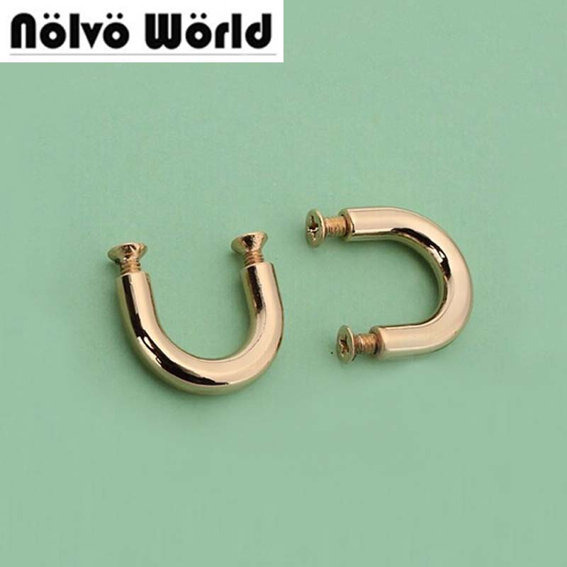 Outside15.8*12mm inside 1/2 inch inside 100 sets/lot  DIY gold handle bags metal accessories bridge connector hanger 30pcs 4colors inside width 10mm diy handbag bag silver metal accessories bridge connector hanger