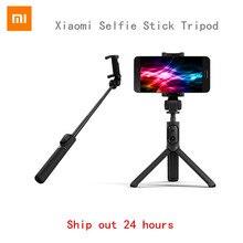 Оригинальный Xiaomi складной портативный штатив монопод для селфи палка Bluetooth с Беспроводной затвора селфи палка для Android и iphone