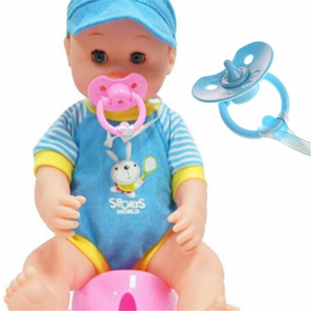 1 шт. пустышки для новорожденной куклы ручной работы DIY соски-пустышки манекен подходит для кукол аксессуары случайный цвет