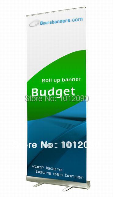 200x85cm Roll Up Banner / Vytáhněte Banner / Zatahovací banner / S jednostranným potiskem / Doprava zdarma do USA