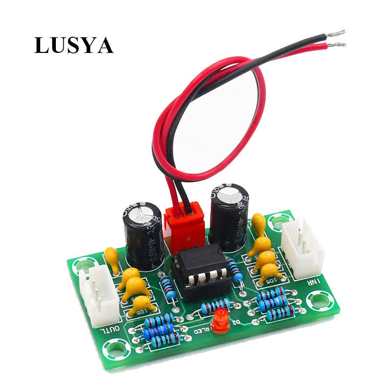 Lusya Mini preamp Op amp module amplifier dual channel NE5532 preamplifier tone board 5 times wide voltage 12-30V G10-004