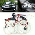 Para FORD Mondeo MK3 2001 2003 2004 2005 2006 2007 Excelente angel eyes iluminação Ultrabright smd led Angel Eyes kit de Halo Anel