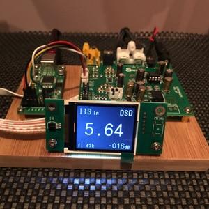 Image 5 - ES9038 Q2M I2S DSD Ottico Coassiale IIS/DOP 384 KHz Decoder Ingresso DSD DAC Uscita Audio Per Cuffie amplificatore di Bordo