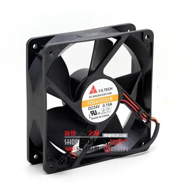 Original box 24V 12032 0.15A FD241232LB three wire inverter fan