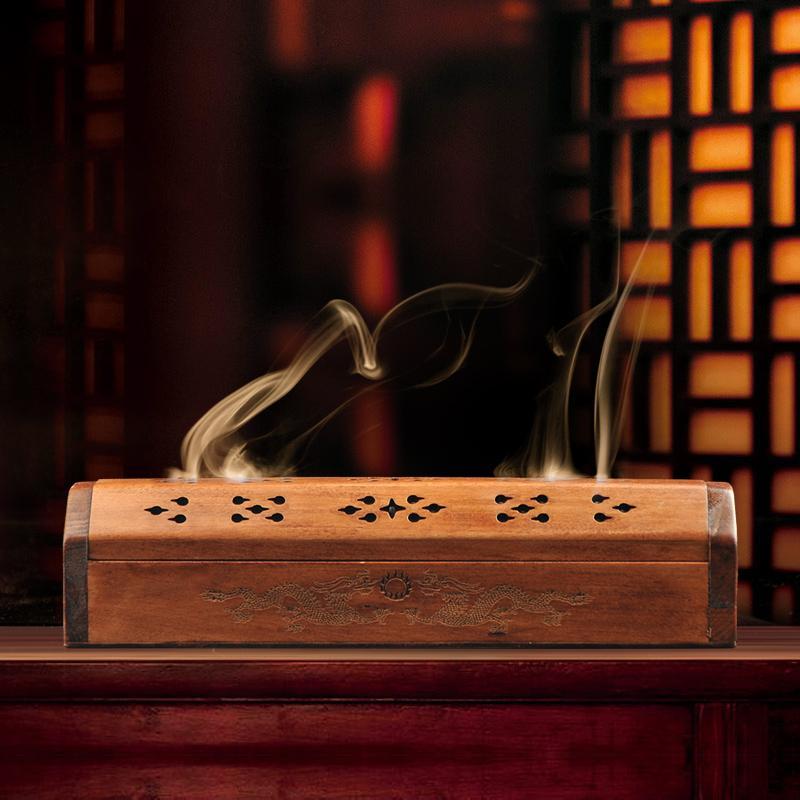 6c81b0fa538ba Dutch wood wooden incense box incense at home furnace box incense  sandalwood incense road
