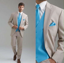 Latest Coat Pant Designs Ivory White Double Lapel font b Formal b font Groom Custom Wedding