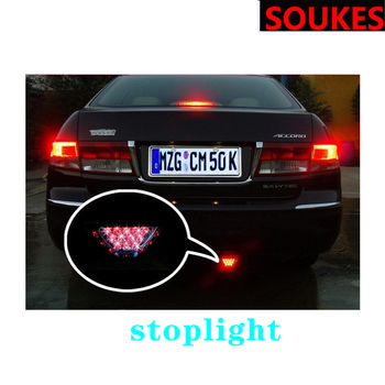 Car LED Strip Brake Rear Tail Warning Light Lamp For BMW E46 E90 E60 E36 F20 X5 Ford Focus 2 3 1 Peugeot 206 307 308 Saab image
