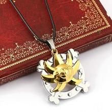 One Piece Bronze Metal Necklace Pendant