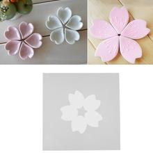 3D Flower Silicone Mold Chocolate Sugar Fondant Mould Handmade Resin Pendant Jewelry Making Mold DIY Craft Tool