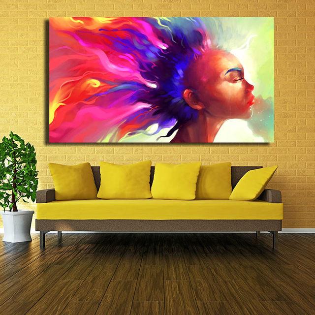 Bright Wall Decor - Home Decorating Ideas