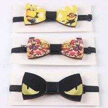 Fashion Weastern Wood Elegant Gentleman Bow Ties Handmade Butterfly Wedding Party Bow