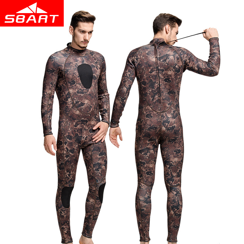 SBART Professional 3MM Neoprene Scuba Wetsuit For Women Men Snorkeling Jumpsuit Spearfishing Wet Suit Surf Diving Equipment free shipping diving suit for men women neoprene professional insulation wetsuit winter new swimming dress snorkeling wholesale