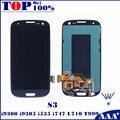 Para samsung galaxy s3 i9300 i9301 i9305 i535 i747 l710 T999 LCD Screen Display Táctil Digitalizador Asamblea Reemplazo para S3 teléfono