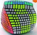 Exclusive 11x11 Velocidade Enigma Cube Preto 11x11x11 Terminou com Z Adesivos (Brilhante Completo)