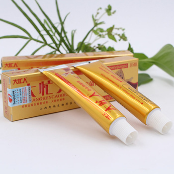 Hot selling YIGANERJING damangren Skin Psoriasis Cream Dermatitis Eczematoid Eczema Ointment Treatment No Box