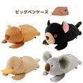 Плюшевые игрушки 1 шт. 23 см забавный черный медведь коала утка ноль случае маленькие студенты карандаш сумка мягкая игрушка творческий подарок для ребенка