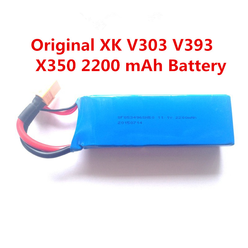 Original XK X350 font b RC b font drone battery Spare Parts XK XK X350 XK